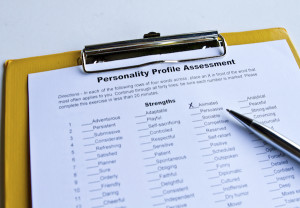 assessment form on a clipboard